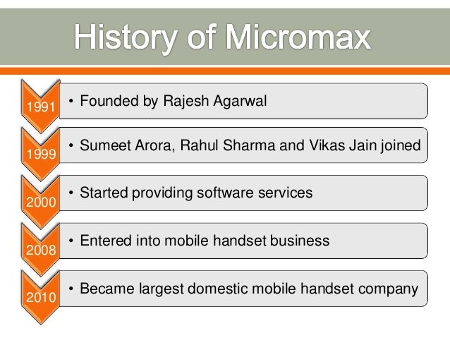 Who is the owner of Micromax Mobile?