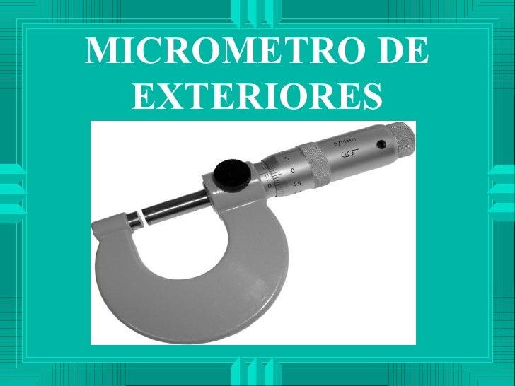 Micrometro - Micrometro de interiores ...