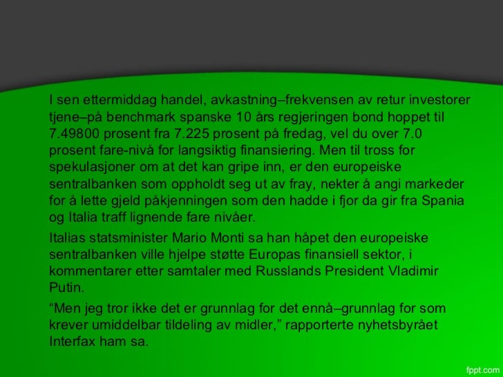 Micron associates debunk spania rebuffs bailout nødvendig Slide 3