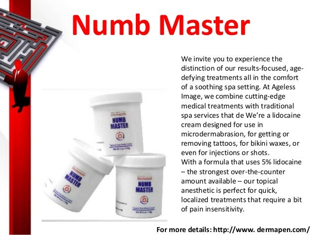 Micro needling eyebrows for Numbing cream for tattoos over the counter