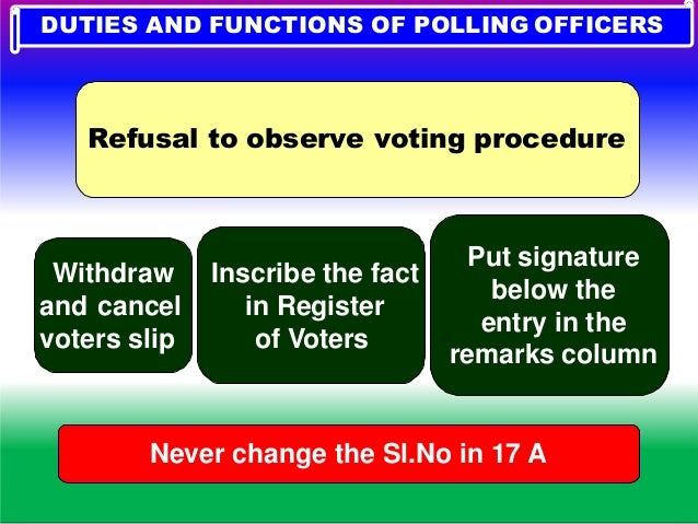 YOUR CHALLENGES …………………? 9.VOTERS COME WITH EDC..