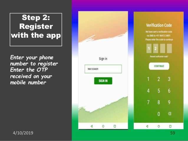 Step 3: Questions received on app There are two types of questions Numerical (Response will be validated for the range) Ye...