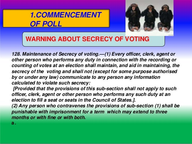 DUTIES AND FUNCTIONS OF POLLING OFFICERS WHO CAN ENTER.