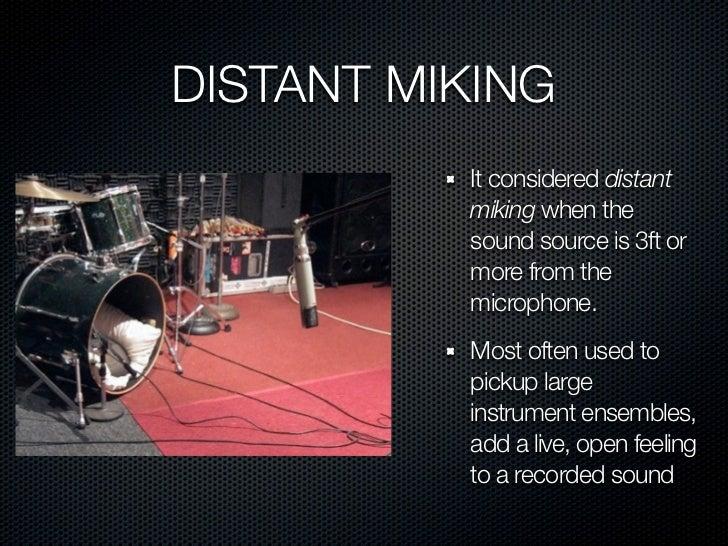 Afbeeldingsresultaat voor distant miking