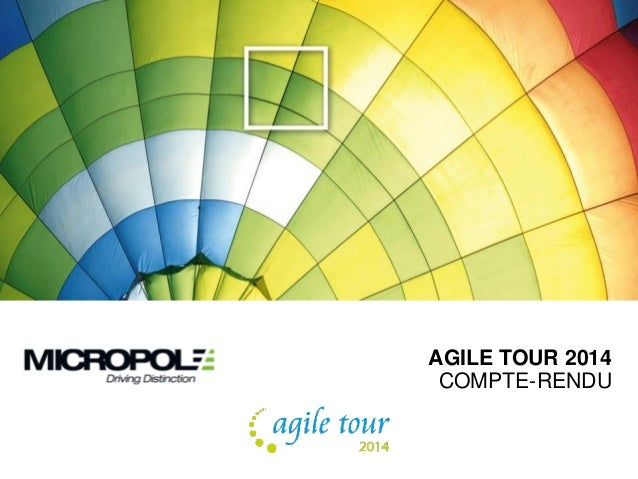AGILE TOUR 2014 COMPTE-RENDU