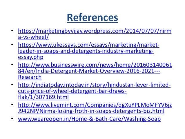 Detergent Market Paper
