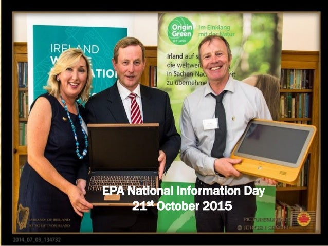 EPA National Information Day 21st October 2015