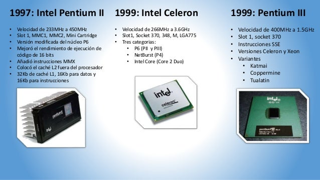 a comparison of celeron and pentium ii A celeron was a cost-reduced version of an intel pentium ii, pentium iii, pentium 4, pentium d, or pentium m it was made cheaper by not including as much l2 cache (the first ones had none at all.