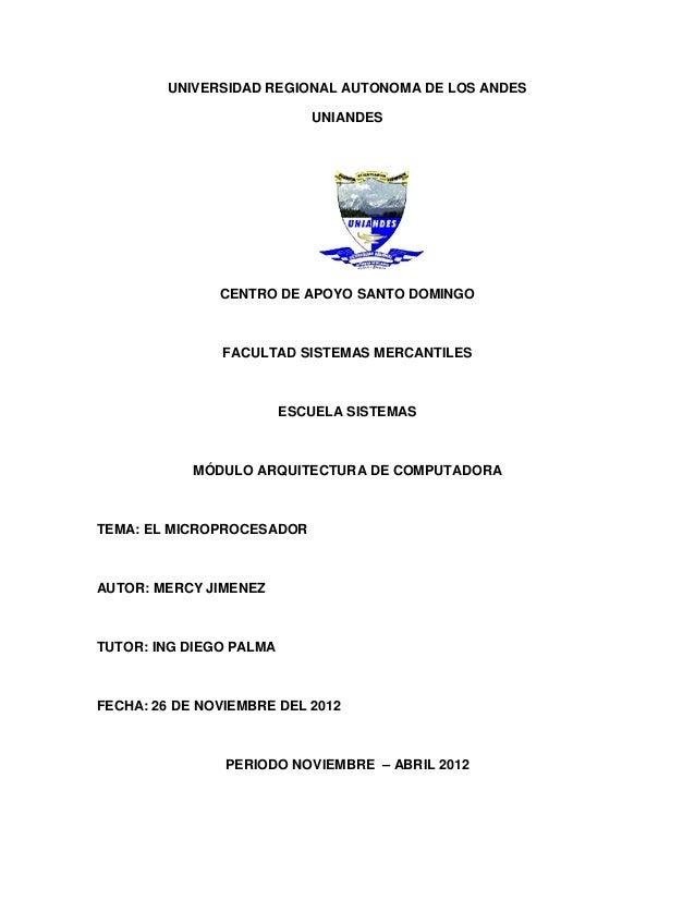 UNIVERSIDAD REGIONAL AUTONOMA DE LOS ANDES                            UNIANDES               CENTRO DE APOYO SANTO DOMINGO...