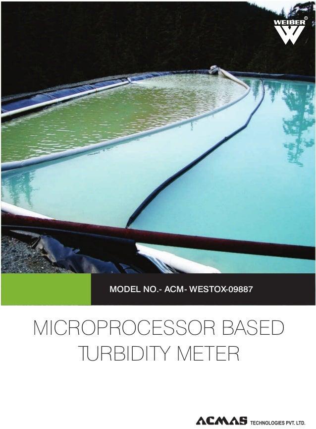 R  MODEL NO.- ACM- WESTOX-09887  MICROPROCESSOR BASED TURBIDITY METER