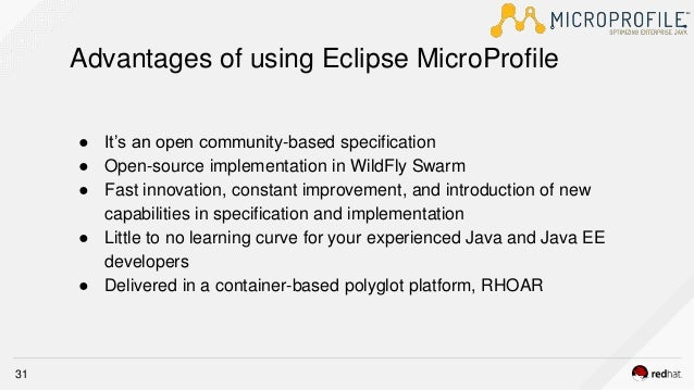 Introduction to Eclipse Microprofile