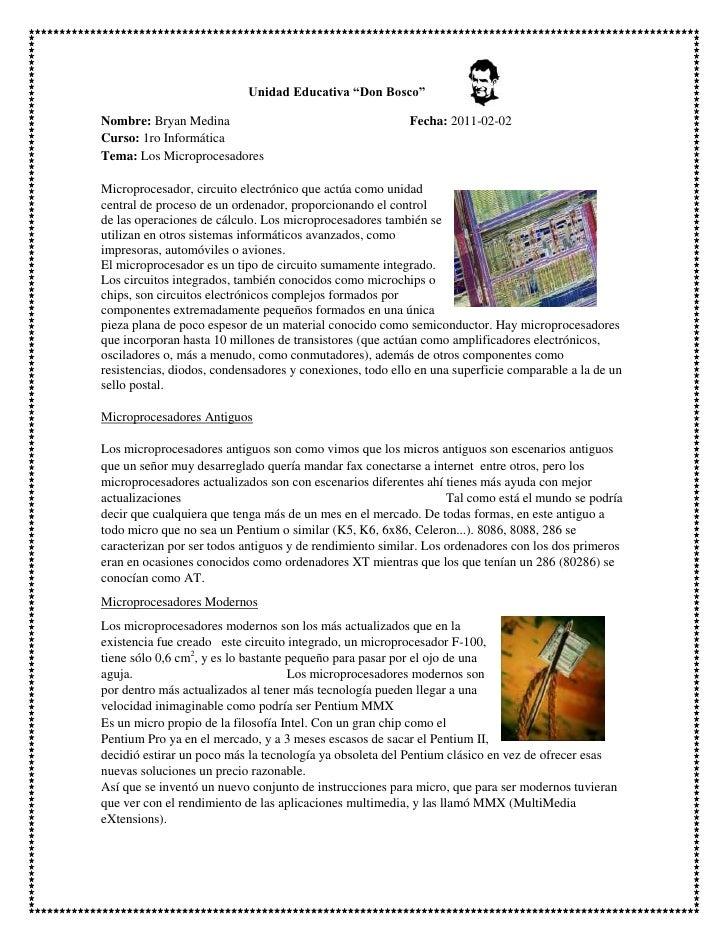 """3891794-294789                                             Unidad Educativa """"Don Bosco"""" <br />Nombre: Bryan Medina        ..."""