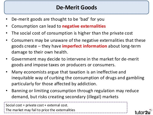 what is a merit good