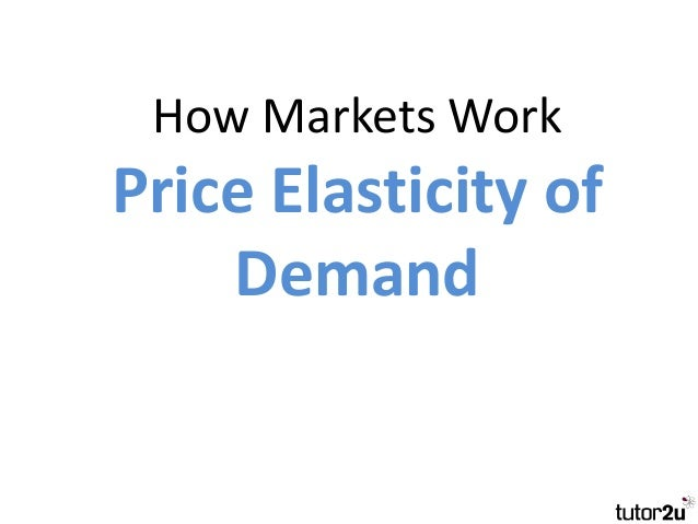 price elasticity of demand for logistics Price elasticity of demand (ped) can provide an analytical framework that can  bring clarity to some of the issues price elasticity refers to the.