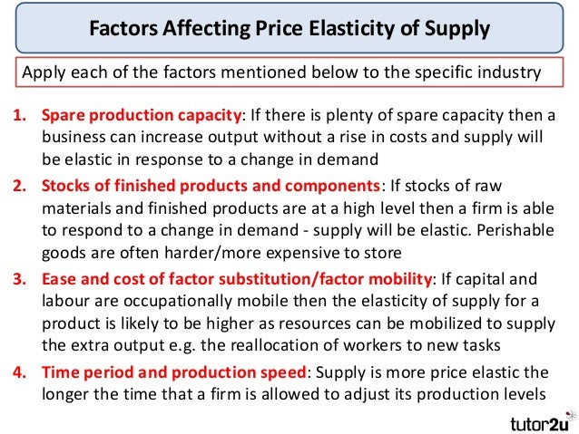 economic elesticity essay In economics and business studies, the price elasticity of demand is a measure of the sensitivity of quantity demanded to changes in price it is measured as elasticity, that is, it measures the relationship as view article eco365 week 2 simulation simulation the supply and demand factors are essential to the work of economics.