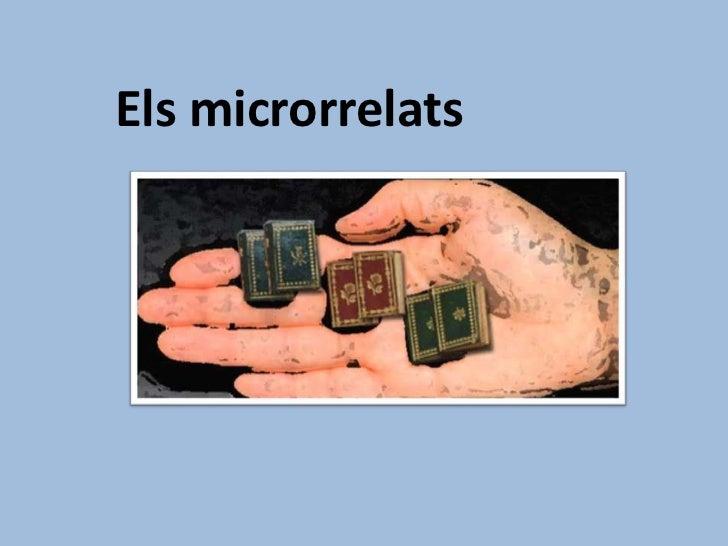 Els microrrelats