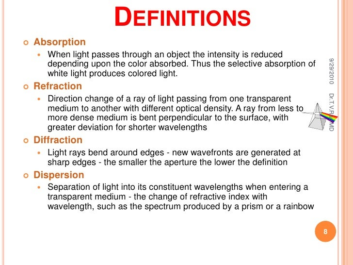 Microscope ug Color change definition science