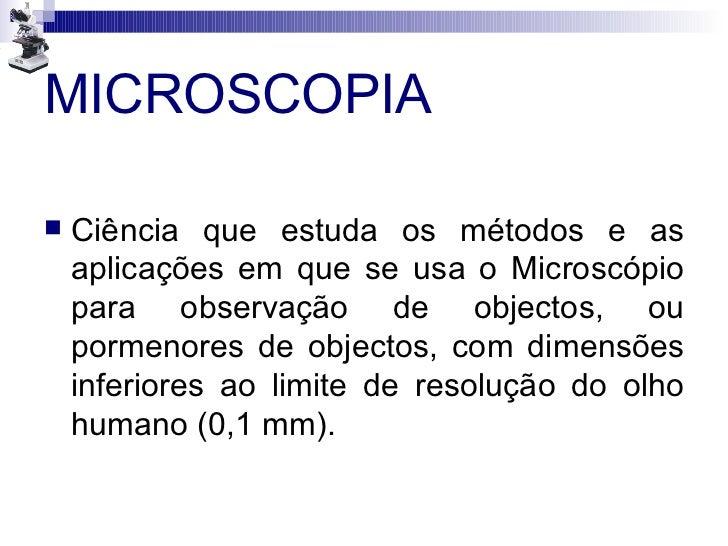 Microscopia Slide 2