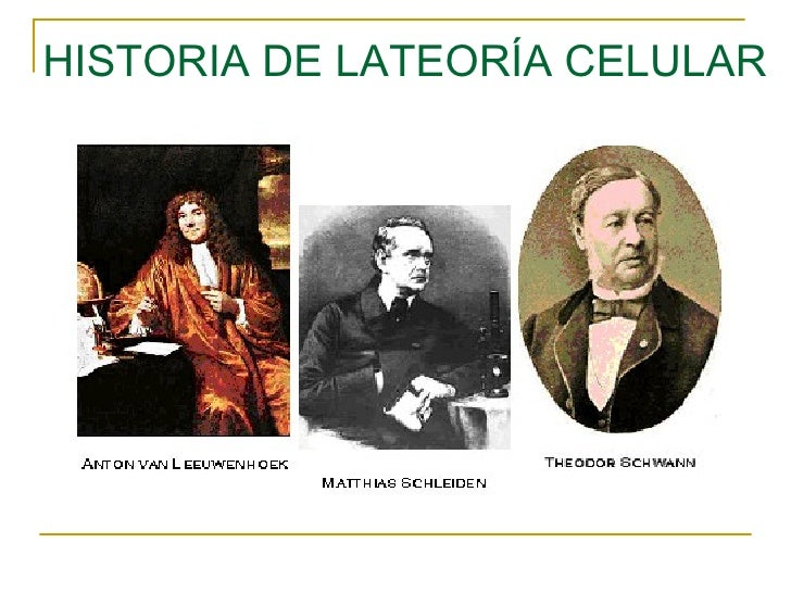 HISTORIA DE LATEORÍA CELULAR