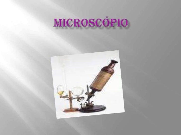 Microscópio<br />
