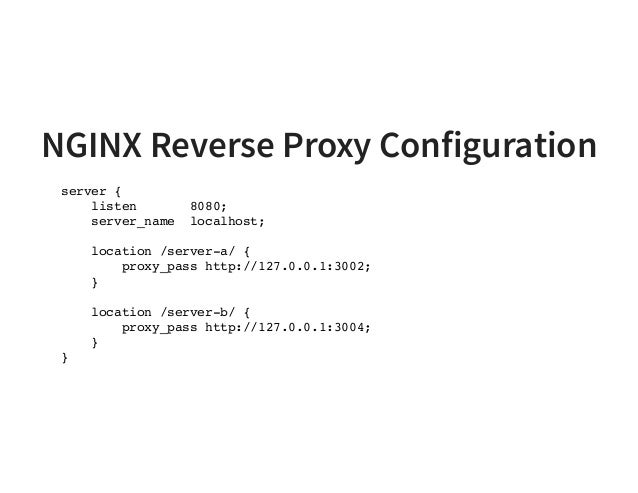 Microservice API Gateways with NGINX