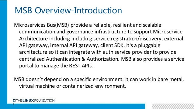 Microservice bus tutorial Slide 3