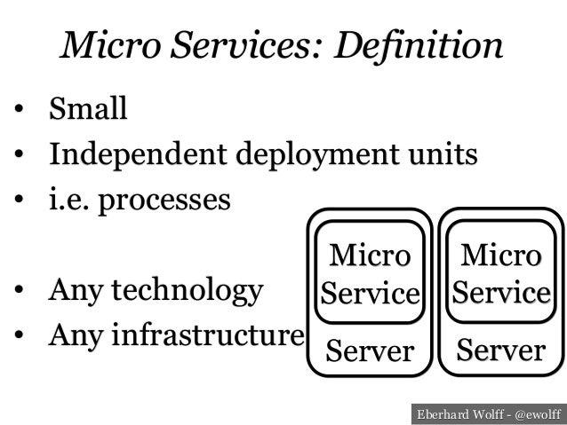 Micro Service – The New Architecture Paradigm