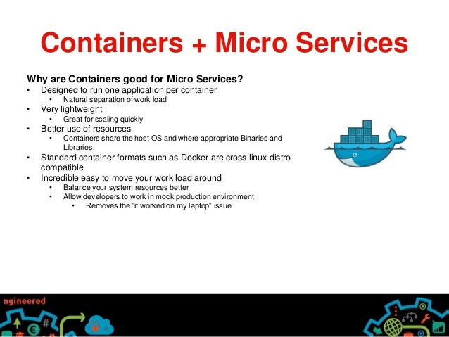 Micro Services And Containers