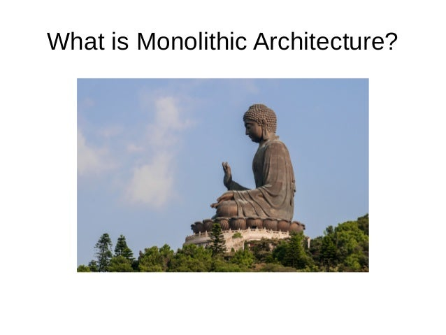Monolithic to Microservices Architecture - STM 6