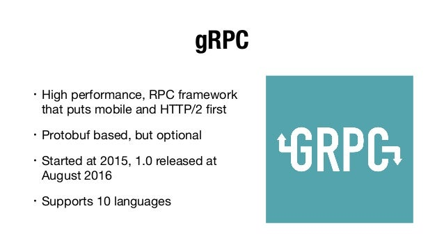 Microservices with gRPC and Kubernetes