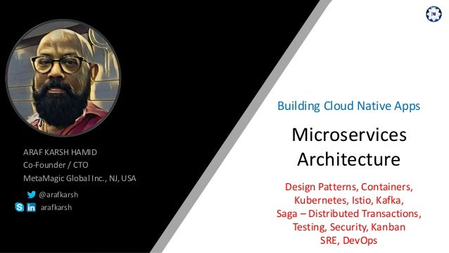 Microservices Architecture Building Cloud Native Apps Design Patterns, Containers, Kubernetes, Istio, Kafka, Saga – Distri...