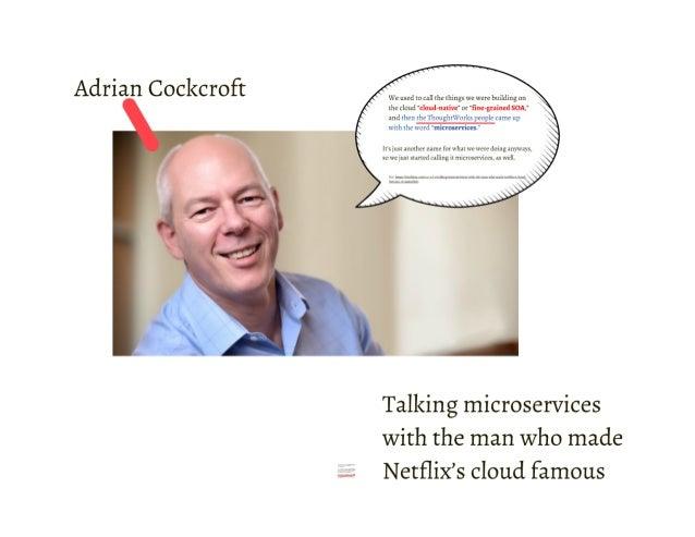 雲端時代不可不知的 Microservices 架構