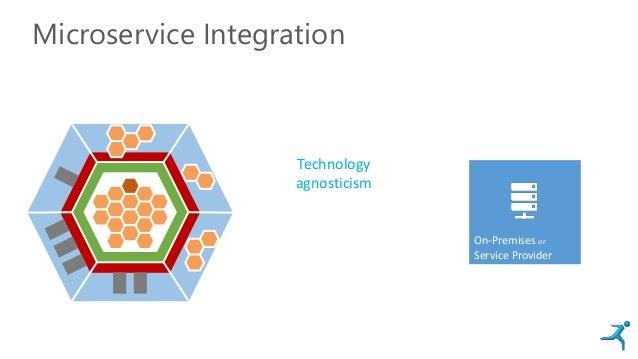 Microservice Integration On-Premises or Service Provider Technology agnosticism