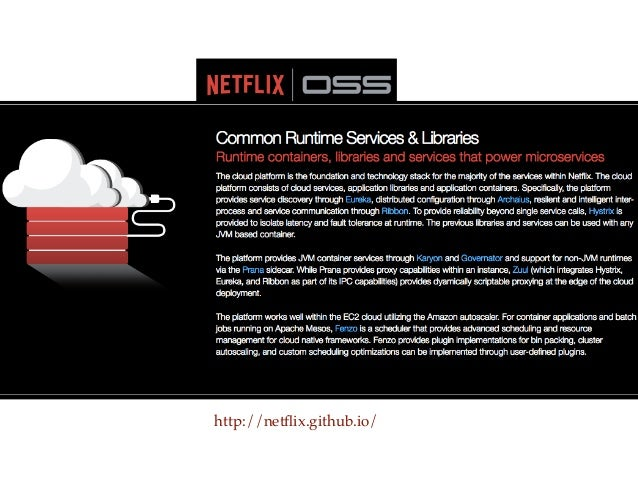 Making Microservices work at Netflix