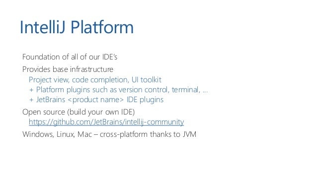 Microservices for building an IDE – The innards of JetBrains