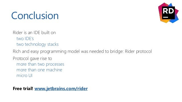 Microservices for building an IDE – The innards of JetBrains Rider - …