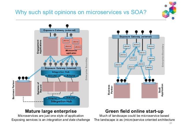 microservices  where do they fit within a rapidly evolving