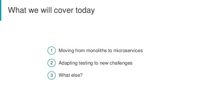 Testing challenges at microservices world Slide 2