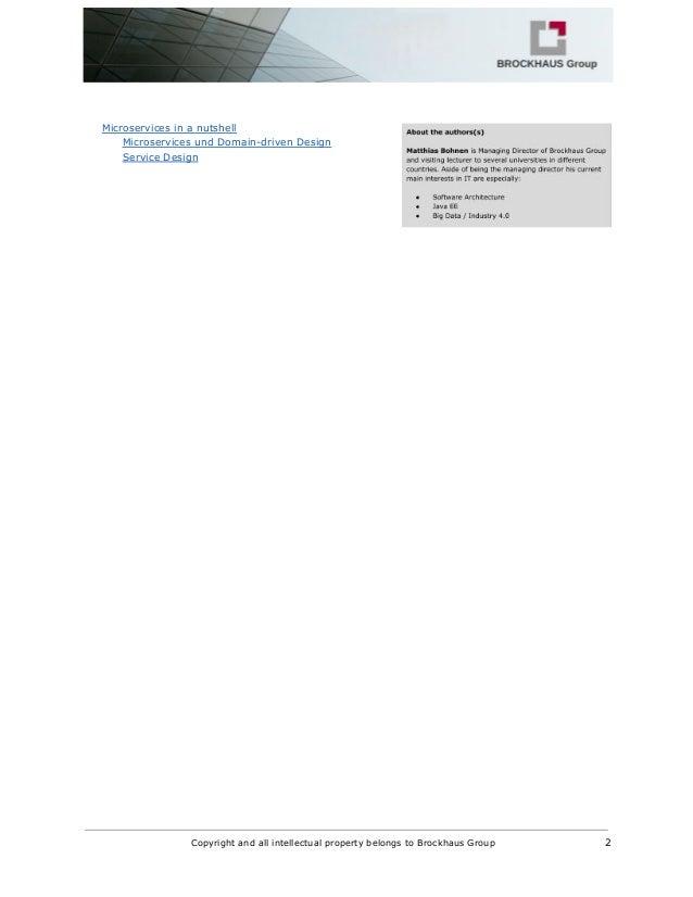 Microservices und das Entity Control Boundary Pattern Slide 2