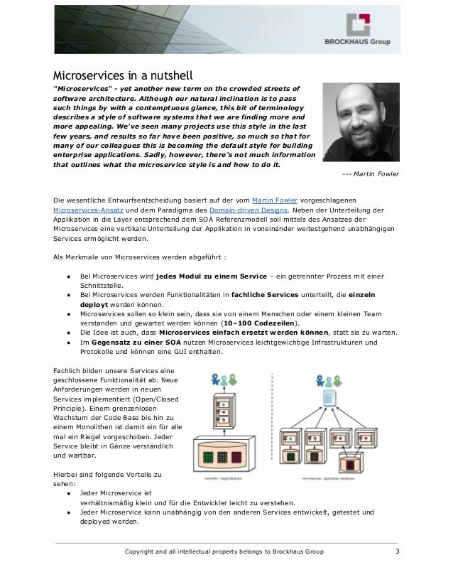 Microservices und das Entity Control Boundary Pattern Slide 3