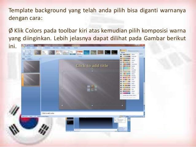Microsft office power point 2007 bab 1 dan 2