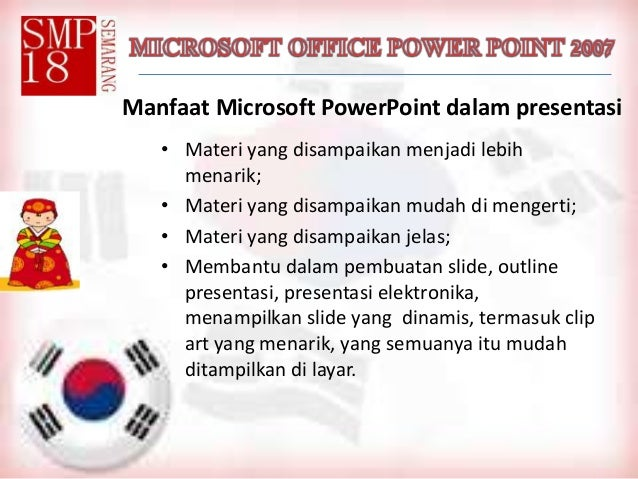 Microsft office power point 2007 bab 1 dan 2