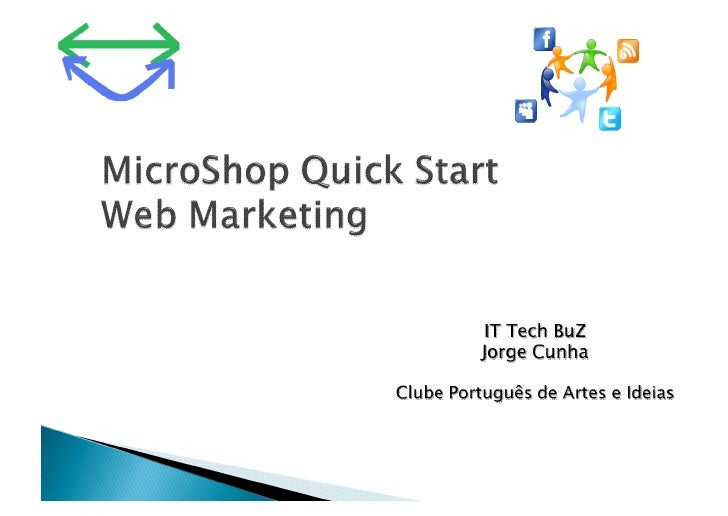 MicroShop Starting Web Marketing