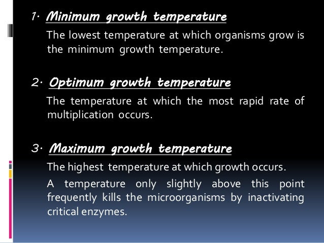 factors affecting the growth of bacteria To study the different phases of bacterial growth  the organism is affected by both physical and nutritional factors the physical factors include the ph.