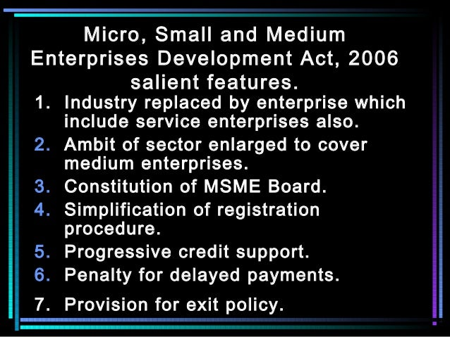 Importance of MSME Sector in India