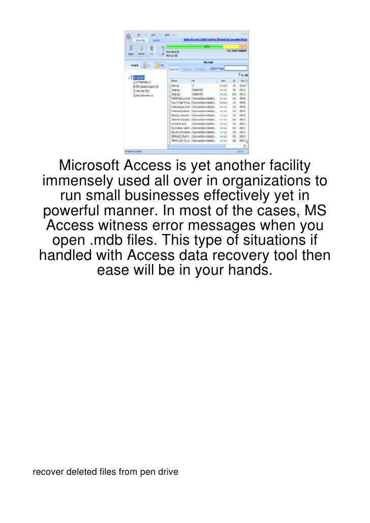 Microsoft Access is yet another facility immensely used all over in organizations to    run small businesses effectively y...