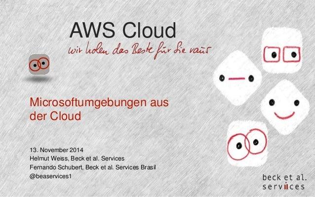 Microsoft Environments aus der Cloud