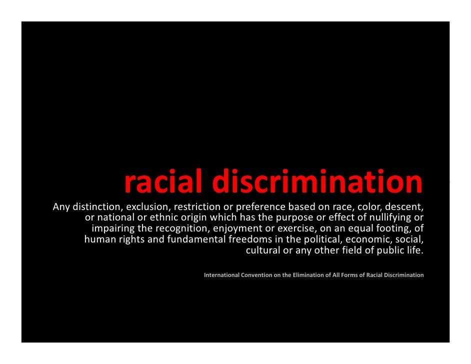 Business Ethics Class Presentation - Racism in Workplace