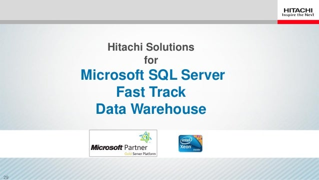 how to create data warehouse in sql server 2012