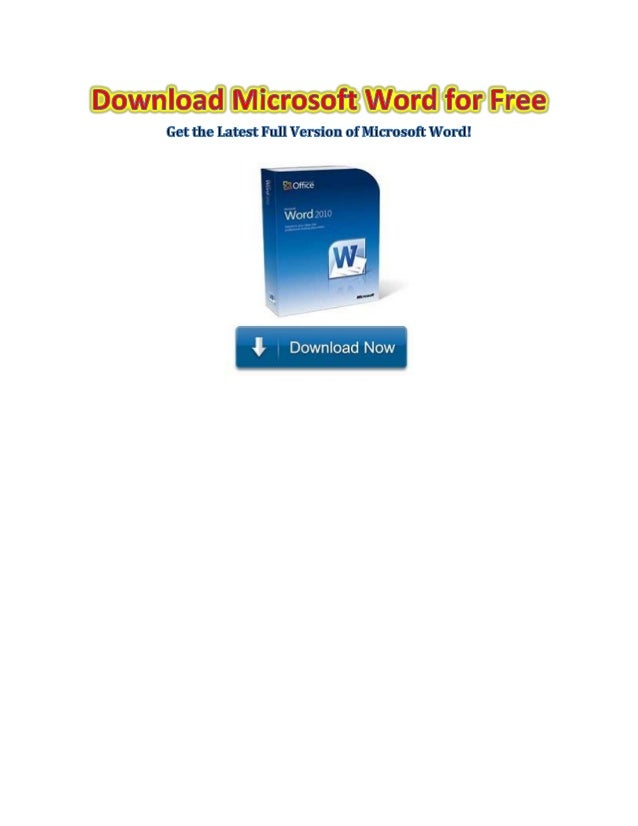 word for free download